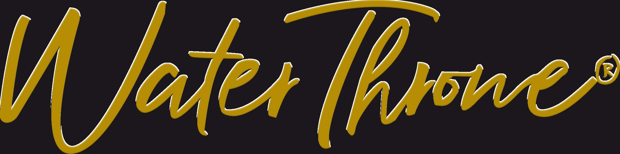 water throne logo